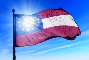 Georgia Flag image-asset
