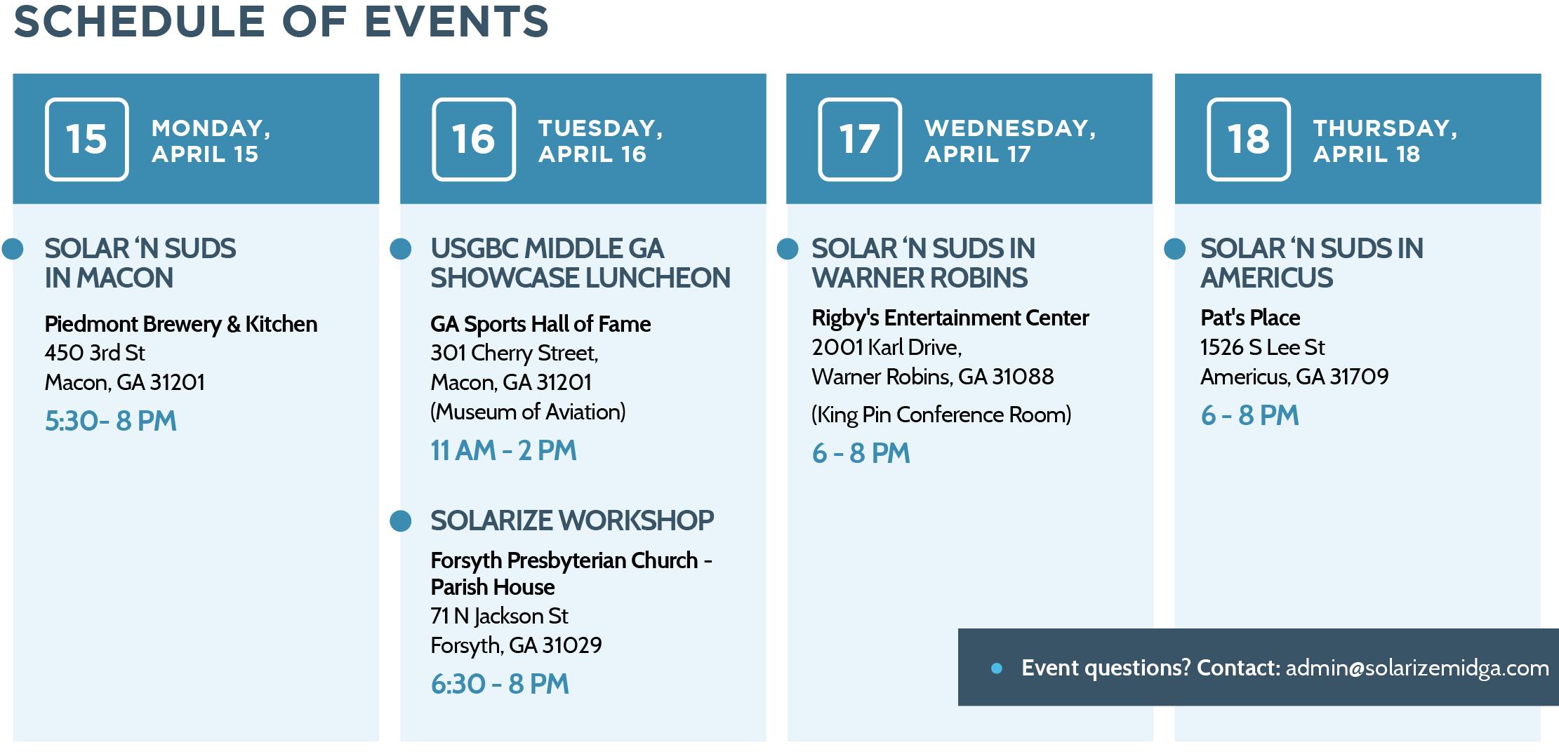 ST2 Schedule