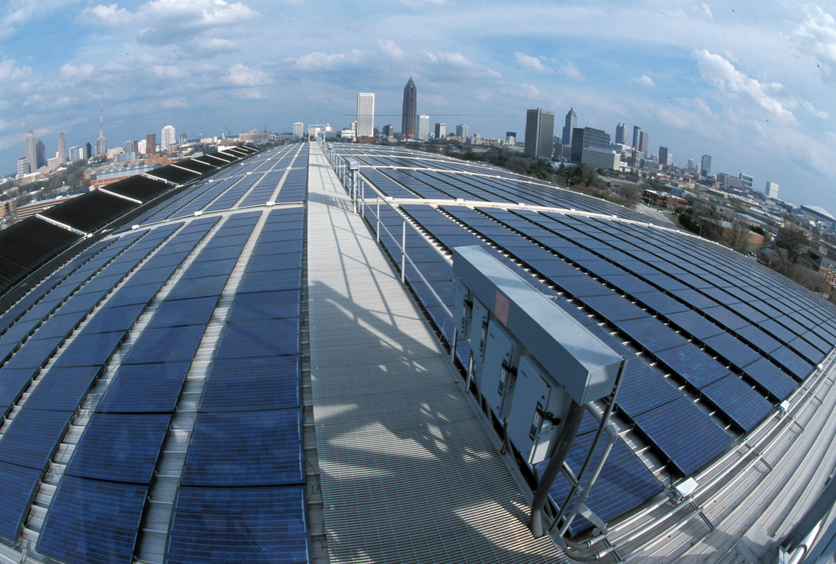 Georgia Tech is a College Campus with Solar Programs